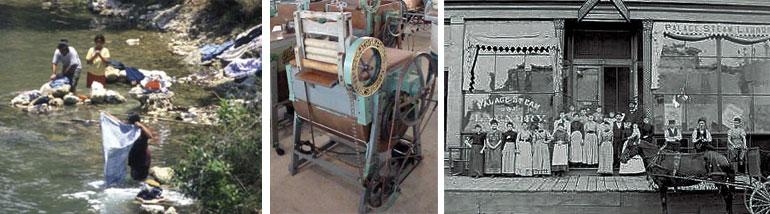 history coin laundry