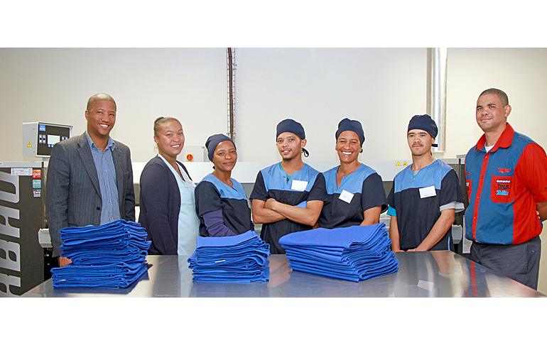 1 laundry-training-stellenbosch-mediclinic-staff