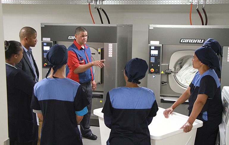 3 laundry-training-stellenbosch-mediclinic-girbau-dryer