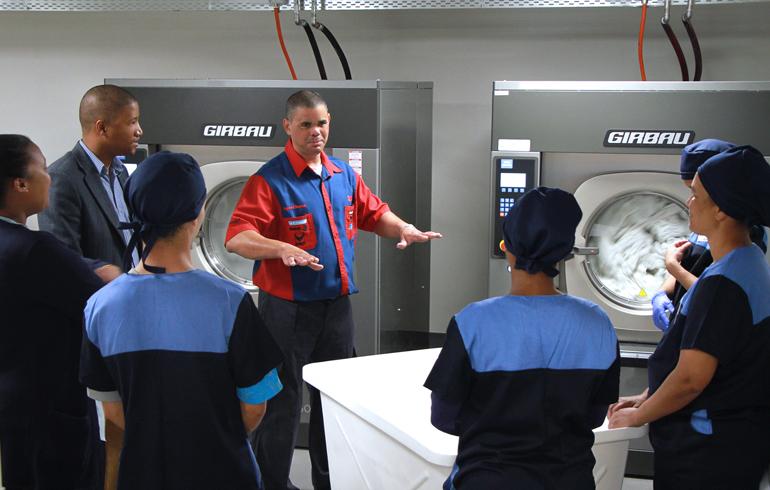 7 laundry-training-stellenbosch-mediclinic-girbau-dryer